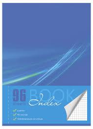 Купить <b>Тетрадь общая</b> BG Index book А4 в клетку, 96 л с ...