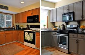 Small Kitchen Makeovers Kitchen Astounding Kitchen Cabinets Before And After Inexpensive