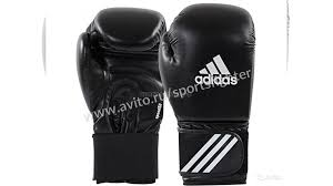 Боксёрские <b>перчатки Adidas Speed 50</b> - Black/White купить в ...