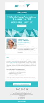 top bb email templates for marketers in  b2b event invitation email template for products