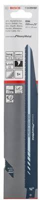 <b>Пильное полотно</b> по металлу S 1125 HBF (<b>225 мм</b>; 5 шт.) <b>Bosch</b> ...