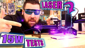 """What Can You Cut With This """"15W"""" LASER Machine? - YouTube"""