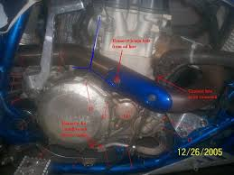 kickstart installation walkthrough yamaha yfz450 forum yfz450 if your engine is still in the frame it takes some manuvering to get the side cover off but shouldn t be too bad once off place on a towel so it will