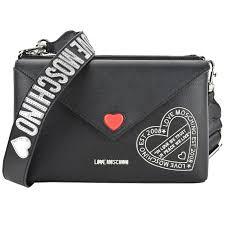 Черная <b>сумка</b> с двумя отделами и съемным плечевым ремешком ...