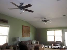 ceiling fan lampshades domestic imperfection ceiling fans ugly