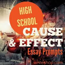 ideas about cause and effect essay on pinterest  sample  high school cause and effect essay prompts