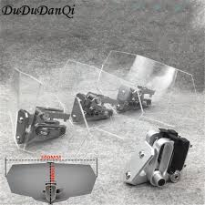 Airflow Adjustable <b>Windscreen</b> Wind <b>Deflector Universal Motorcycle</b> ...