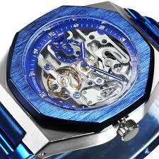 FORSINING <b>Top Luxury</b> Brand <b>Mens</b> Auto Mechanical <b>Watch</b> Gold ...