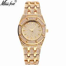 MISSFOX <b>Watch Women Watches</b> Luxury Brand 2020 18K Gold ...