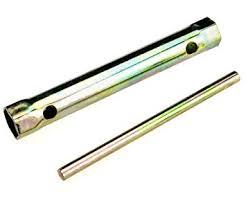 16/18CM <b>Motorcycle Ignition Spark Plug</b> Spanner Tool Deep Reach ...