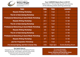 career planning and placement center announces spring 2015 events career planning placement spring2015