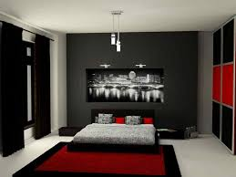 room red gray white designs