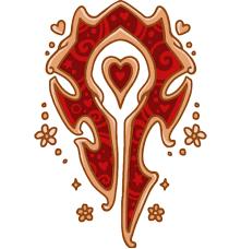Dank WoW memes — skullnuku: Ornate Horde Crest via Relatably.com