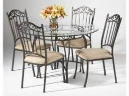 black wrought iron table and chair sets round wrought iron glass metal dining sets black wrought iron table