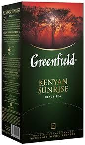 Kenyan <b>Sunrise</b> — классический черный чай — Greenfield