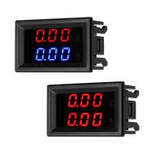 Arduino - ST16V Mini Voltmeter 220V Round LED Auto Voltage ...
