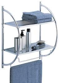 modern bathroom towel bars full size of  unique bathroom wall shelf with curvy platforms complete