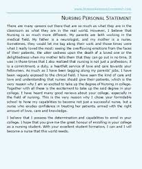 Nursing personal statement essay sasek cf