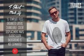 <b>Men's</b> T-Shirt Mock-Up Vol.5 2017 by Freeman <b>Studio</b> on ...
