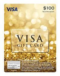 Amazon.com: $100 Visa Gift Card (plus $5.95 Purchase Fee): Gift ...