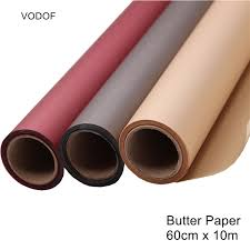 <b>Waterproof Flowers</b> Wrapping Butter Paper Gift Wrapping Paper ...