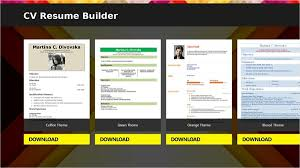free resume builder software for android my resume builder cv free jobs resume builder software free download