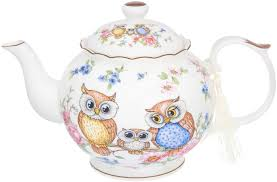 """<b>Чайник заварочный Elan</b> Gallery """"Совушки"""", 1100 мл — купить в ..."""