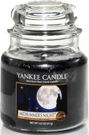 "<b>Ароматическая свеча</b> Yankee Candle ""Летняя ночь / <b>Midsummers</b> ..."