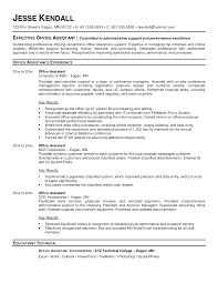 medical office administrative assistant resume sample resume for medical office administrative assistant resume sample resume for administrative assistant at medical office jesse kendall