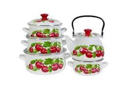 Набор посуды для приготовления КМЗ, Вишневый сад, 10 ...