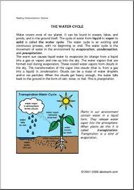 creative writing creative and the ojays on pinterest comprehension water cycle elemupper elem   brief text on the water