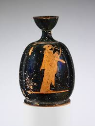 Terracotta <b>squat</b> lekythos (oil flask) — Google Arts & Culture