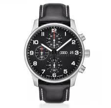 Мужские <b>наручные часы</b> хронограф Audi Chronograph, black/<b>silver</b>
