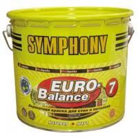 <b>Краска акриловая Symphony Euro-Balance</b> 7 C матовая 2,7 л ...