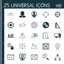 set of universal icons on personal skills tree structure set of 25 universal icons on personal skills tree structure keyword optimisation and more