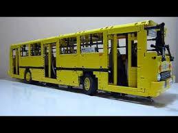 Lego <b>Technic</b> Ikarus 260 Motorized RC Model Bus <b>Moc</b> - YouTube