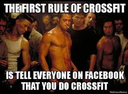 The First Rule Of Crossfit | WeKnowMemes via Relatably.com