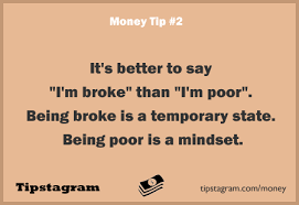 Famous quotes about 'Being Broke' - QuotationOf . COM via Relatably.com