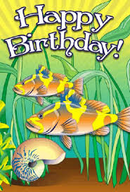 Image result for fish birthday