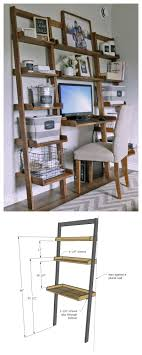 diy desk made with all 1x boards small space office ana white build ana white build diy apothecary style