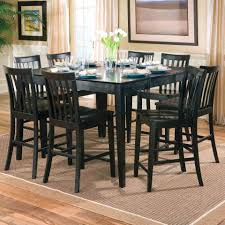 Tall Dining Room Table And Chairs Bedroom Glamorous Tall Kitchen Table Dining Ideal Home Round Set