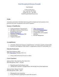 search results spokane jobs   santa resume cvhotel receptionist resume sample