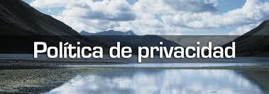 Resultado de imagen de politica de privacidad