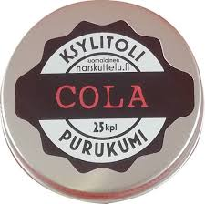 Cola <b>chewing gum</b> from Finland | www.<b>DentalXylitol</b>.com