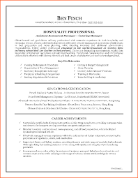 cv hospitality example event planning template servic resume writing sample for hospitality restaurant position
