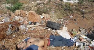 Resultado de imagen de cadáver de asesinado