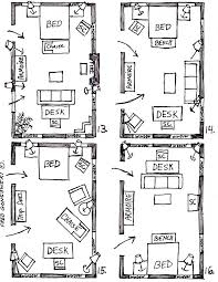 arranging furniture in a 15 foot wide by 25 foot long bedroom arranging bedroom furniture