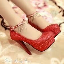 احذية حمراء بكعب عالي images?q=tbn:ANd9GcS