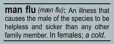 Man Flu on Pinterest | Man Cold, Man Up and Flu via Relatably.com