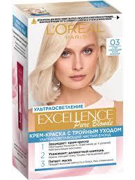 """<b>Стойкая крем-краска для волос</b> """"Excellence"""" L'Oreal Paris ..."""